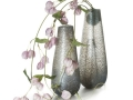 Antracitové vázy zo skla