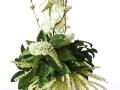 Nádherná ozdoba vo farbách zelenej a bielej