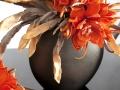 Oranžové kvety