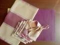 Prestieranie set fialovej farby