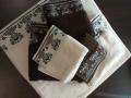 Klasické uteráky  ANNA  s barokovým vzorom