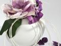 Kvety ... fialová s bielym