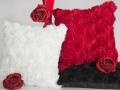 Romantické vankúše s ružou