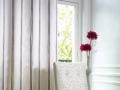 Klasická záclona pásikavá