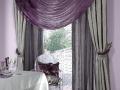 Klasická kombinácia sivej a fialovej farby