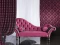 Pink s barokovým vzorom