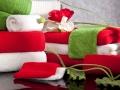 Uteráky červené , biele a zelené