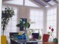 Plisse rolety ... do zimných záhrad fialové