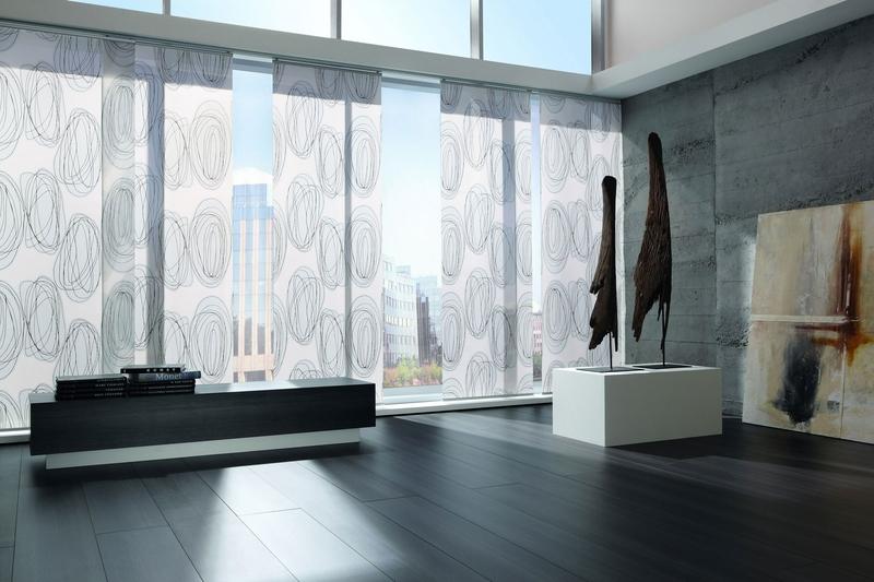 z vesn syst my rolety japonsk steny pekn z clony. Black Bedroom Furniture Sets. Home Design Ideas