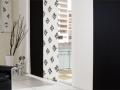 Japonské steny ... kombinácia čiernej a bielej , stála klasika
