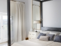 Moderná spálňa s látkami URBAN